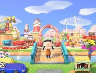 【悲報】あつ森さん、ゲーム内で絶対に再現できない風景をcmで流してしまう