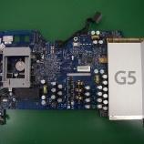 『 imac G5 ロジックボードのコンデンサ交換』の画像