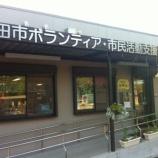 『戸田市ボランティア・市民活動支援センター(TOMATO) 緑のカーテンの中の小さなゴーヤ』の画像