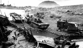 自衛隊にいた時の怖い話 『硫黄島・戦車山からの発砲』