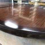 『楕円テーブル天板の塗り直し』の画像