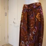 『ottod'Ame(オットダム)フロントボタンスネークプリントスカート』の画像