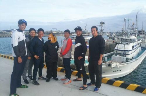 阪神の若手選手たち、釣りに行った結果wwwwwwwwwwwwwwwのサムネイル画像