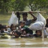『国籍の無いロヒンギャ族迫害』の画像
