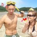 田井の浜 キレイな海 満喫したよ。