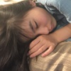 寝顔が天使・・・