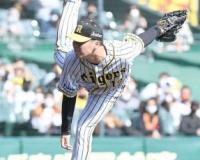 阪神・馬場 2死満塁で中島を空振り三振 3回0封4K「すごく良かった」