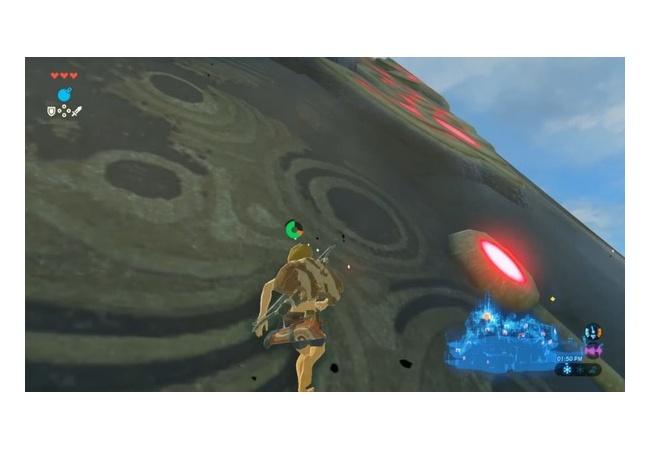 【ゼルダの伝説 ブレスオブザワイルド】力技でハイルラル城へ行くルート見つかるwwwwww