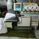 『【横浜のお客様からJUKI製MO-2414N 2本針4本糸オーバーロックの修理依頼】横浜から送っていただき対応をさせていただきました!』の画像