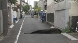 【調布陥没】NEXCO東日本「地下47mを掘削機が通過した。周辺の家もボロボロになってる」