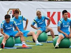 【画像】日本代表の練習風景が人間離れしている件www