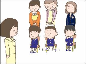 【4コマ漫画】男の子の友達の作り方【入園式シリーズ第3弾】