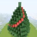【初心者向け】クリスマスツリーの作り方(マイクラPS4、PS3、PE版)