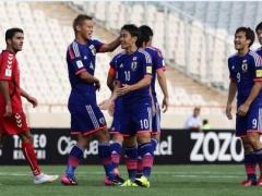 【動画】日本×アフガニスタン、前半終了!香川のスーパーミドルで先制した日本!森重がさらに追加点を奪い2-0で折り返す!