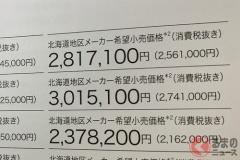 なぜ北海道だけ新車価格が違う? 本州より約2万円高い理由とは