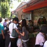 『戸田市の市役所南通りで「朝市 in 上戸田」が開催されました』の画像