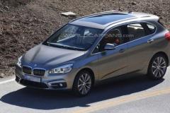 BMW初のFFミニバン、アクティブツアラーは3月発表され2015初頭にリリース!