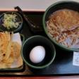 名古屋札の辻を出発点として歩く日の朝食は「ゆで太郎 名古屋長者町店」にて