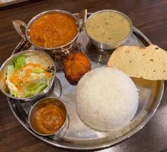 【カグベニ】呉服町(福岡)〜博多港近くでダルバート。博多区対馬小路の交差点近くで味わう本格ネパール料理〜インド・ネパール料理 KAGBENI