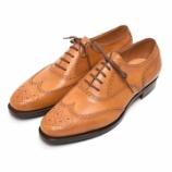 『誂靴 | JOE WORKS JOE-0 Full broge oxford Museum calf Giallo』の画像