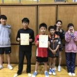 『◇仙台卓球センタークラブ◇ 第35回多賀城市卓球協会長杯 結果』の画像