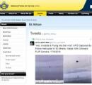 イギリス警察、UFOを撮影した挙句、映像公開して「これ、なんなんでしょう?」とバカッターでつぶやく