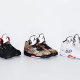 『Supreme英直リンク 0/17 発売予定 Supreme x Air Jordan5』の画像