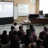 『愛媛県立松山市立新玉小学校で講演』の画像