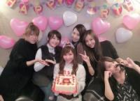 河西智美の誕生日に集まったメンバーがこちら