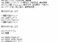 チーム8 全国ツアー 徳島県公演(昼) セットリストまとめ!