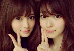 乃木坂46白石麻衣と℃-ute鈴木愛理のアイドル界2トップのツーショットが神々しすぎると話題!