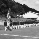 1964年 日野産業高校運動会の入場行進