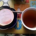 『(´-ω-`)帝国ホテルさんのクリーミープリンに北欧紅茶』の画像
