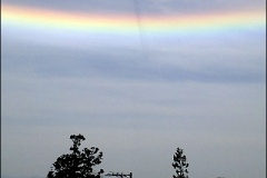 【画像あり】めずらしい逆さ虹が仙台などの広範囲で出現!! あとは分かるな・・・
