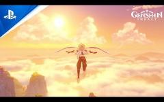 【原神】原神のPS5版プレイ動画をみるとロードが早いな←カットしてる?