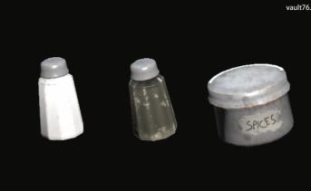 塩、コショウ、スパイス