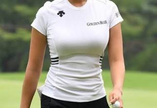 【朗報】韓国さん、またしてもとんでもなくセクシーな女子選手をゴルフ界に送り込む
