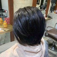 表参道 神宮前 都内で美髪パーマが得意な美容室MINX原宿☆須永健次☆ストレートパーマ 縮毛矯正した髪にデジタルパーマをかけてみました