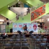『岡崎 倫典 インストアライブ at イオン高の原での音響現場』の画像