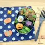 『かわいいハロウィンのかまぼこで作るキャラ弁』の画像