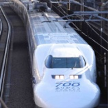 『2/12 700系新幹線 ありがとう装飾』の画像