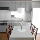 『プチDIYで、すっきり明るいシンプルキッチンに!』の画像