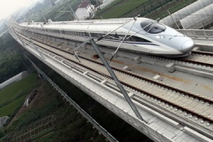 中国国産の新幹線が 416.6km/h を記録