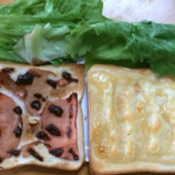 『朝食はレタスたっぷりサンド』の画像