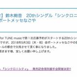 『【乃木坂46】鈴木絢音 5月3日名古屋での個別握手会 欠席を発表・・・』の画像