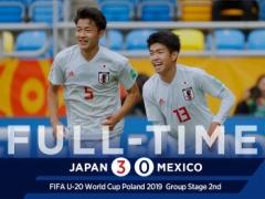 【 全ゴール動画 】U20W杯!日本代表が3-0でメキシコに完勝!