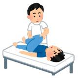 整体師「肩甲骨がヤバイですね、よく肘付くでしょ?張り付いてますわこれ!」