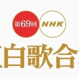 『平手友梨奈は姿を見せず、代打のセンターは小林由依が務めた!第69回「NHK紅白歌合戦」欅坂46『ガラスを割れ!』リハーサルが終了。』の画像