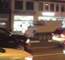 2時間に渡ってカーチェイス…盗んだ軍の装甲車で