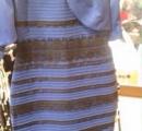 【画像】このドレス、「青と黒」もしくは「白と金」に見える人がいるらしい